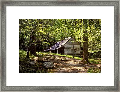 Appalachian Mountain Log Cabin Framed Print by Paul W Faust -  Impressions of Light