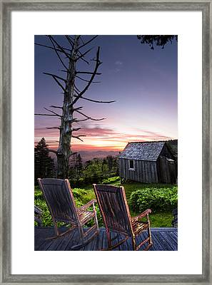 Appalachian Porch Framed Print