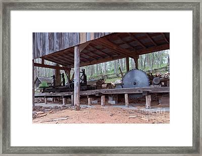 Appalachian Saw Mill Framed Print