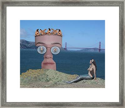 Apparition At Lands' End Framed Print