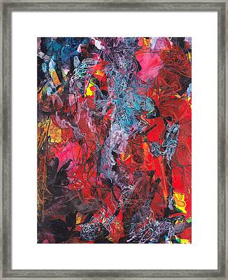 Framed Print featuring the painting Apparition by Buck Buchheister
