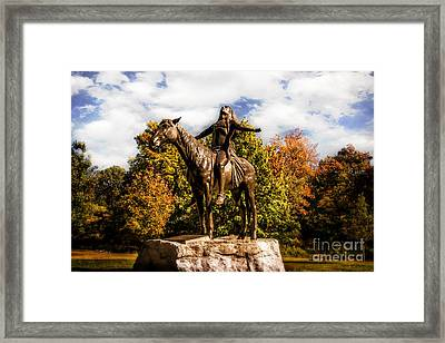Appeal To The Great Spirit Framed Print by Tamyra Ayles