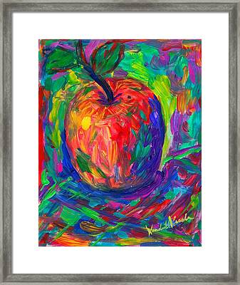 Apple A Day Framed Print
