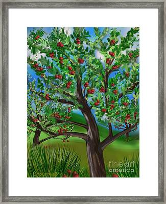 Apple Acres Framed Print