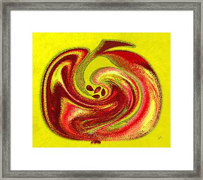 Apple Framed Print by Ben and Raisa Gertsberg