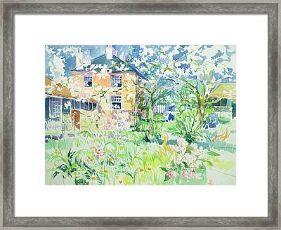 Apple Blossom Farm Framed Print by Elizabeth Jane Lloyd