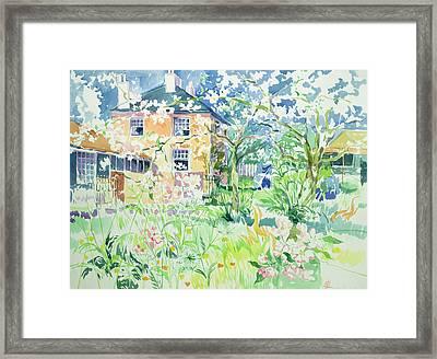 Apple Blossom Farm Framed Print by Elizabeth Jane Lloyd