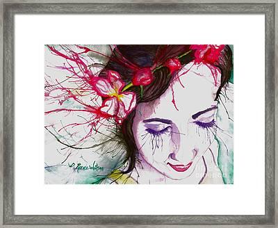 Apple Blossoms Framed Print by D Renee Wilson