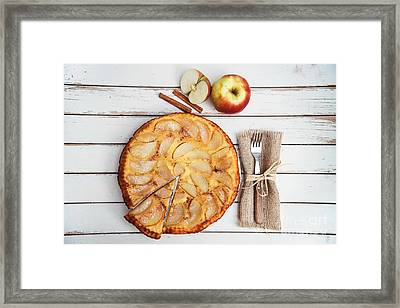 Apple Cake Framed Print