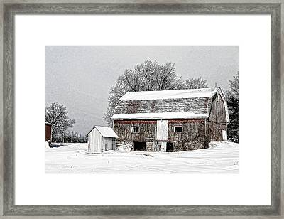 Apple Country Pultneyville Ny Framed Print