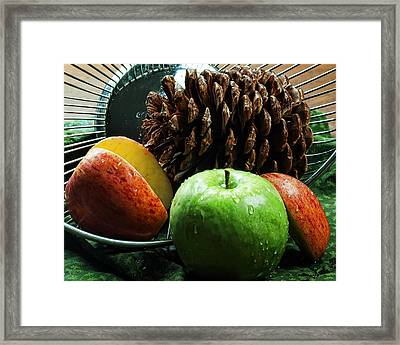 Apple Delight Framed Print by Camille Lopez