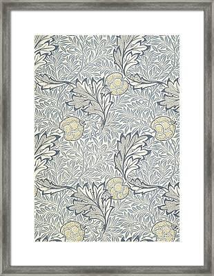Apple Design 1877 Framed Print by William Morris