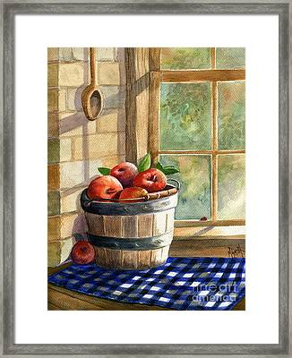 Apple Harvest Framed Print by Marilyn Smith