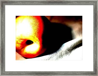 Apple Framed Print by Jason Michael Roust