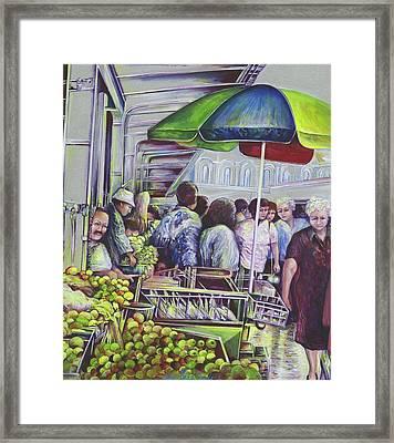 Apple Pie Requires Apples Hungary Framed Print by Gaye Elise Beda