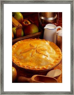 Apple Pie Framed Print by The Irish Image Collection
