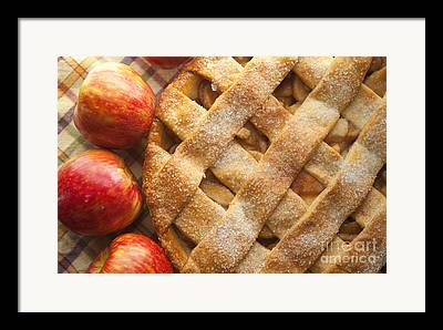Pie Framed Prints