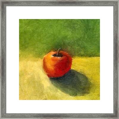Apple Still Life No. 98 Framed Print by Michelle Calkins