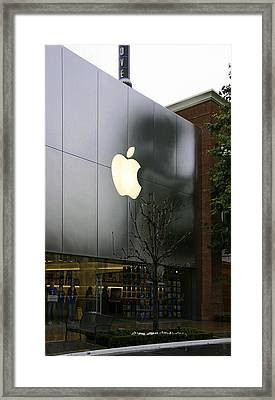 Apple Store Framed Print by Viktor Savchenko