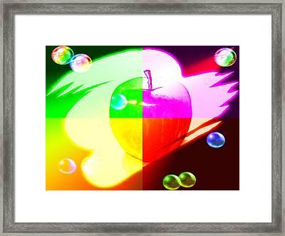 Apple3 Framed Print by Kenneth A Mc Williams
