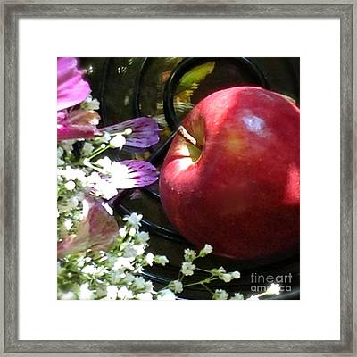 Appleflowers Framed Print