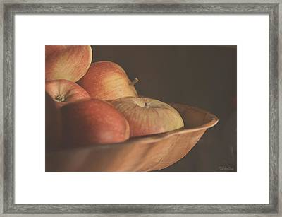 Apples In The Sun Framed Print