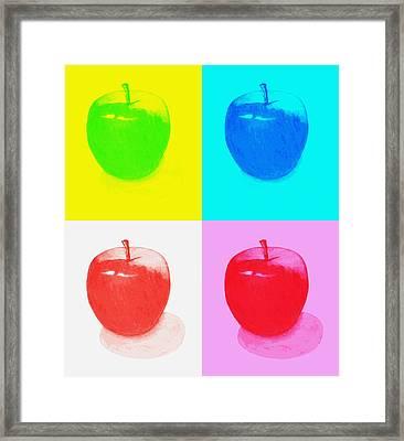 Apples2 Framed Print by Kenneth A Mc Williams