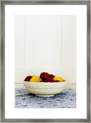Apples Framed Print by Margie Hurwich