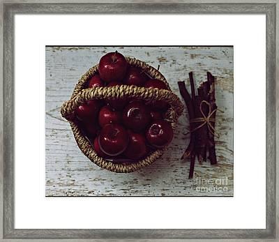 Apples Framed Print by Pemaro
