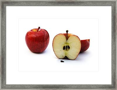 Framed Print featuring the photograph Apples Still Life by Jocelyn Friis