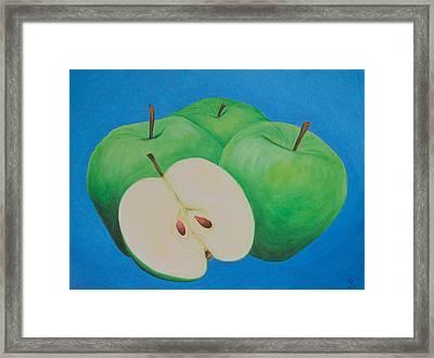 Apples Framed Print by Sven Fischer