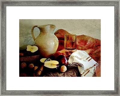Apples Today Framed Print by Diana Angstadt