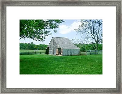 Appomattox Barn Framed Print