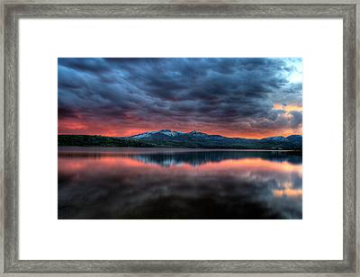 Approach To Mordor Framed Print