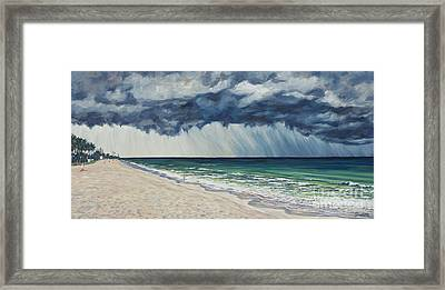 Approaching Gail Framed Print by Danielle  Perry