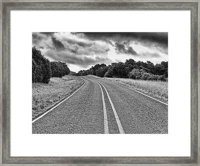 Approaching Point B Framed Print by Wendy J St Christopher