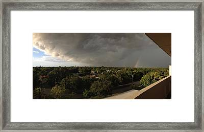 Approaching Storm Framed Print by Beth Williams