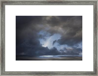 Approaching Storm Framed Print by Ron Jones