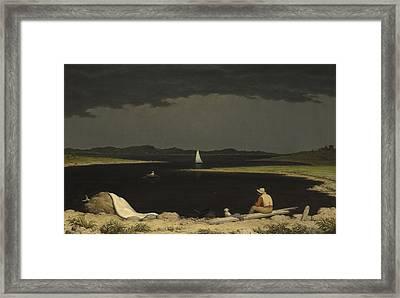 Approaching Thunder Storm 1859 Framed Print