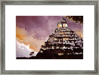 Approching Storm Framed Print