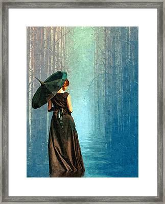 Apres La Pluie Framed Print