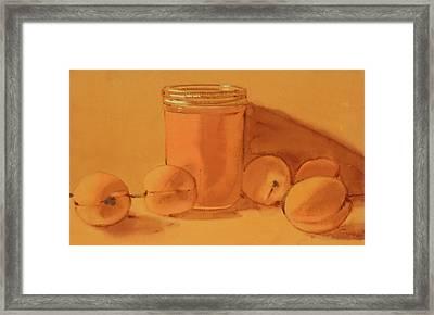 Apricot Preserves Framed Print