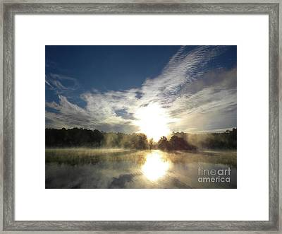 Glorious Morning Framed Print
