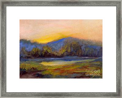 April Dawn Framed Print