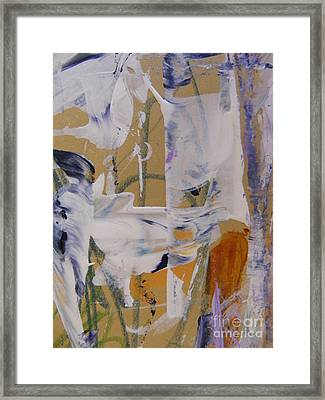 April Showers 2 Framed Print by Nancy Kane Chapman