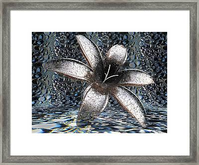 April Showers Framed Print by Louis Ferreira