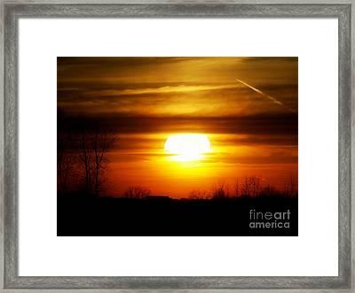 April Sky 22 Framed Print