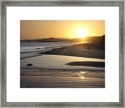 Aptos Framed Print