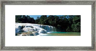 Aqua Azul Chiapas Mexico Framed Print by Panoramic Images
