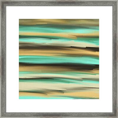 Aqua Dreams Framed Print by Lourry Legarde